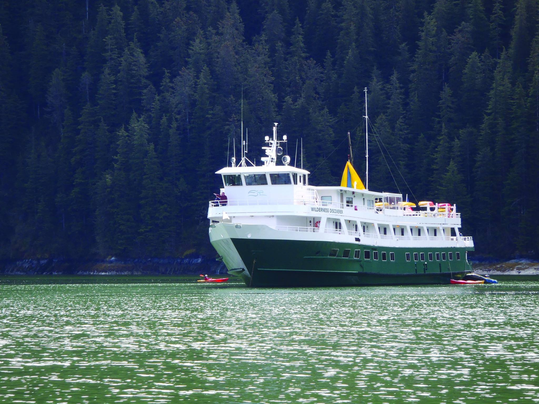 Wilderness Discoverer, the ship servicing Northern Passages & Glacier Bay (Wilderness Discoverer)