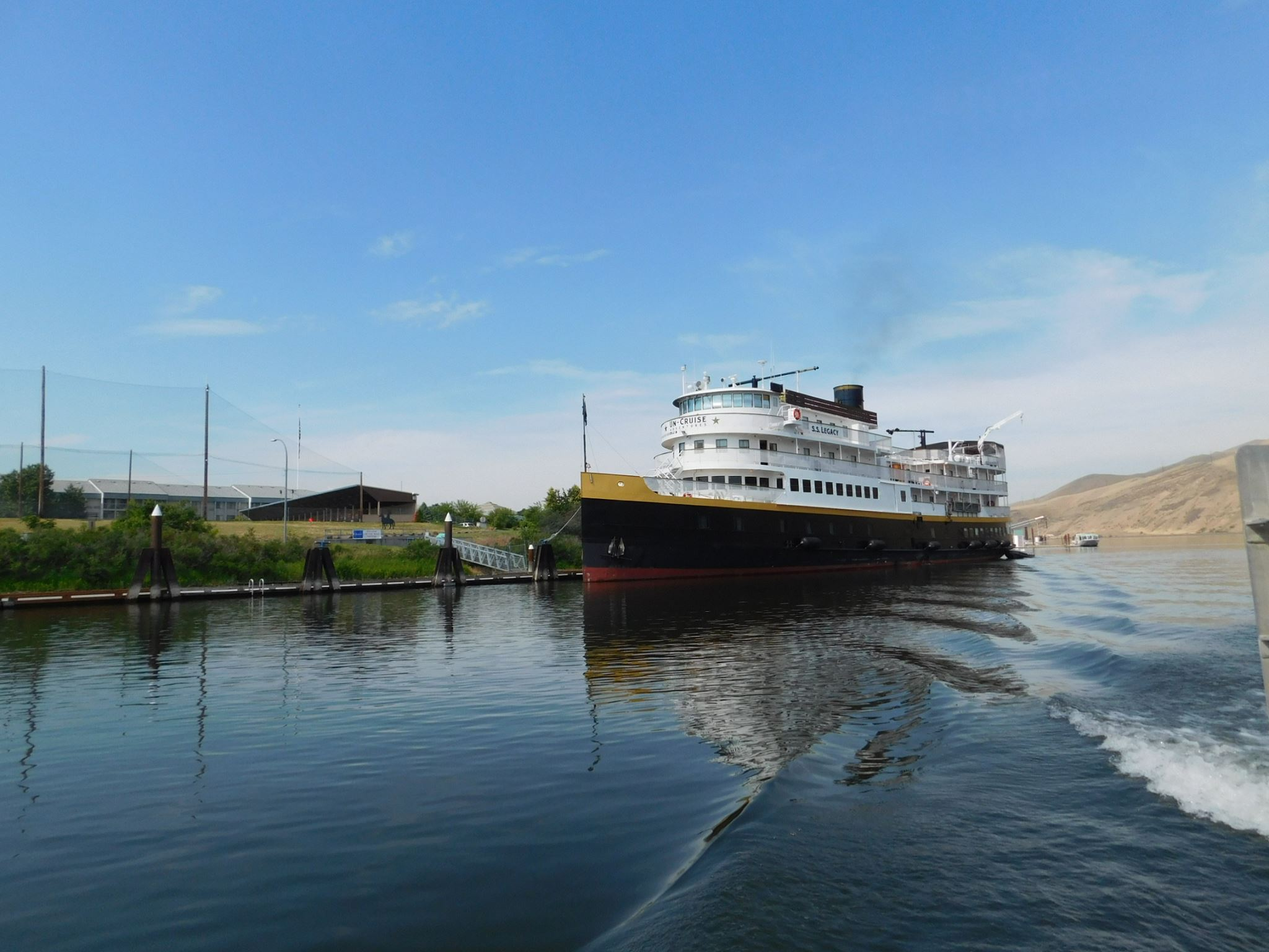 S.S. Legacy, the ship servicing Alaska Glacier Cruise—Ultimate Expedition (S.S. Legacy)