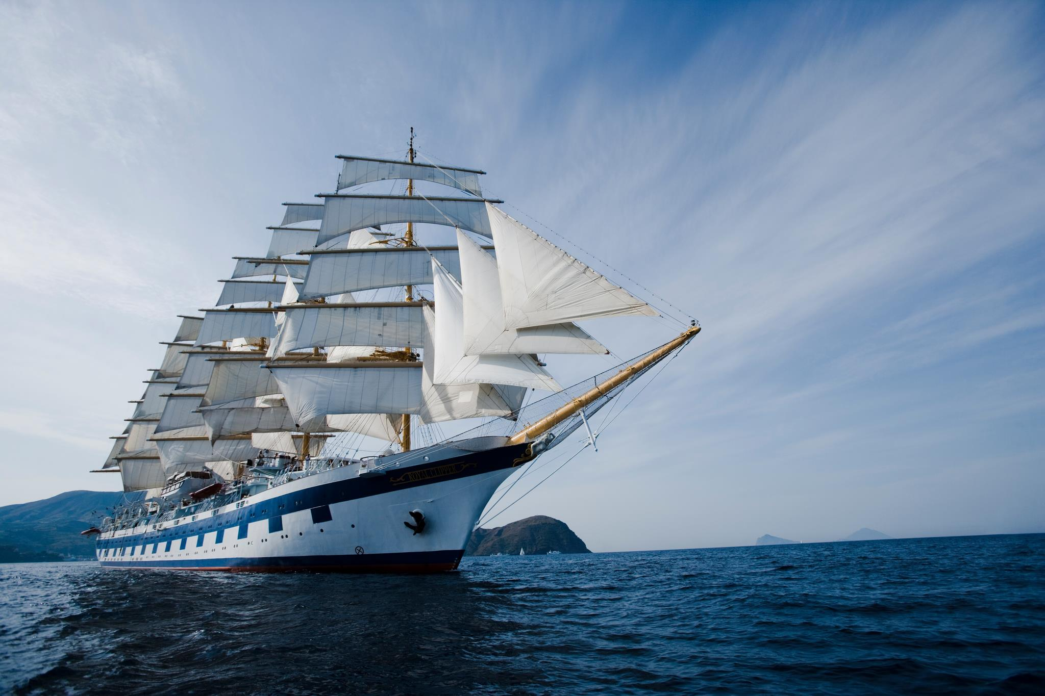 Royal Clipper, the ship servicing Italy, Montenegro & Croatia Cruise - 15 Days (Royal Clipper)