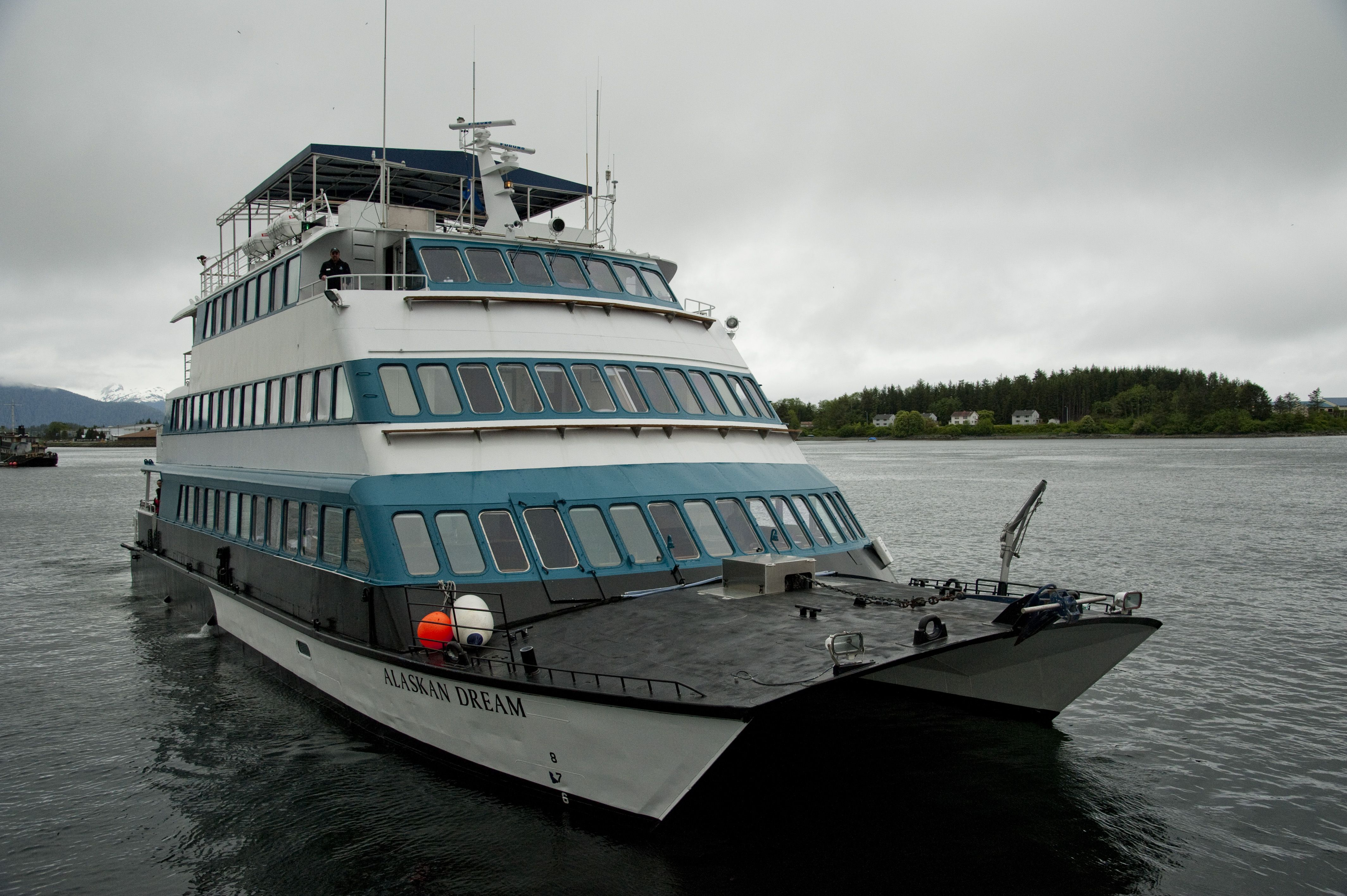 Alaskan Dream, the ship servicing Alaska's Southeast Explorer (Alaskan Dream)