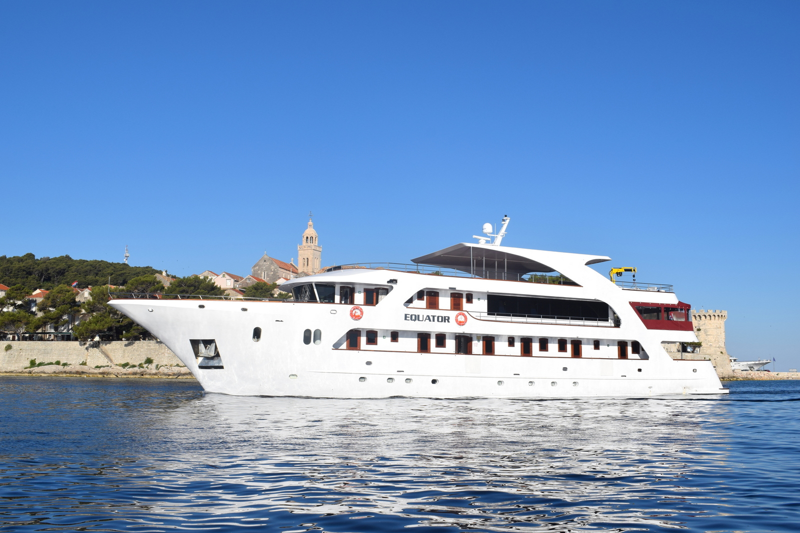 Equator, the ship servicing Split to Dubrovnik cruise - Premium class