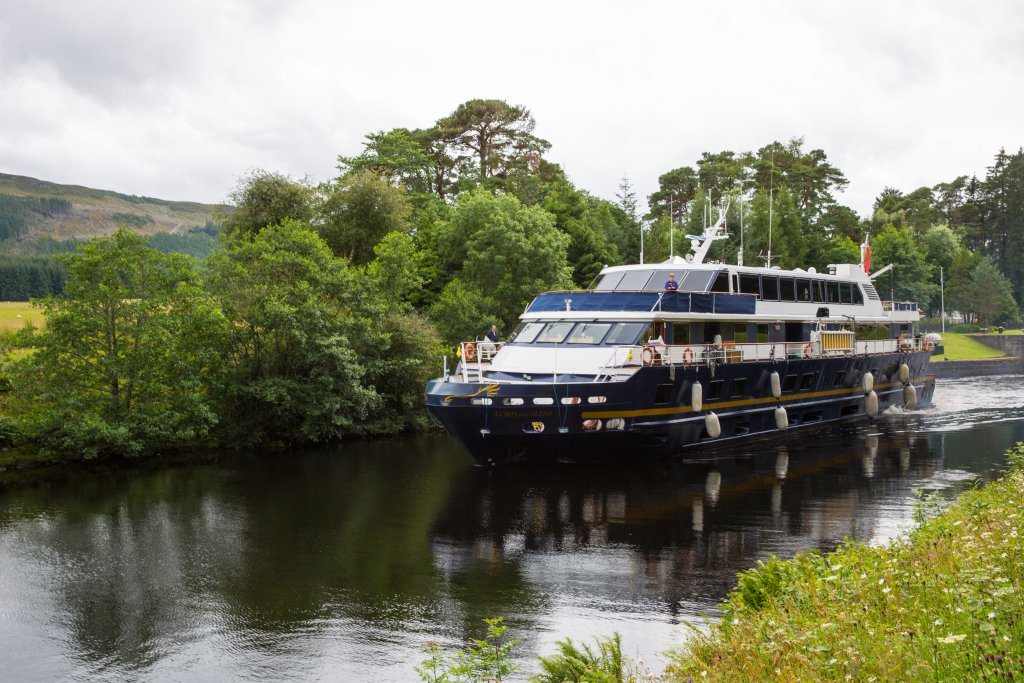 Lord of the Glens, the ship servicing Scotland's Highlands and Islands