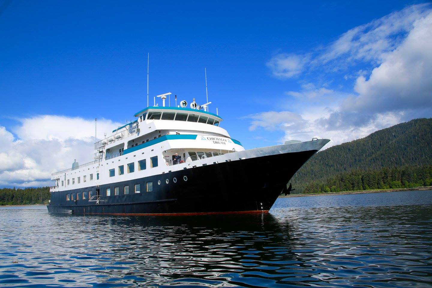 Chichagof Dream, the ship servicing Alaska's Glacier Bay Adventure (Chichagof Dream)