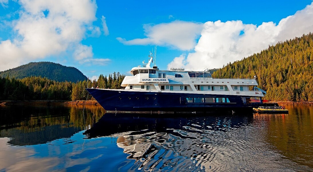 Safari Explorer, the ship servicing Alaska's Glacier Country (Safari Explorer)