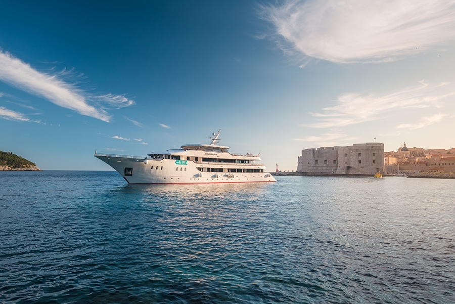 Croatian Deluxe Superior Ships, the ship servicing Adriatic Explorer: Opatija - Dubrovnik (Deluxe Superior Ships)