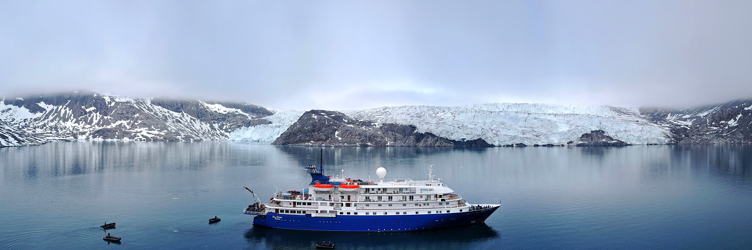 Sea Spirit, the ship servicing Legendary History & Wild Nature