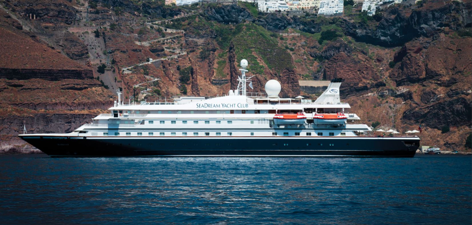 Sea Dream I & II, the ship servicing Luxury Mediterranean: From Athens to Venice