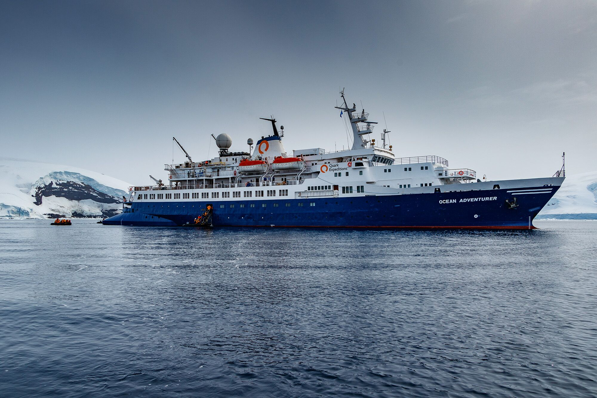 Ocean Adventurer, the ship servicing Wild & Ancient Britain with Ireland